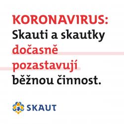 Koronavirus - skauti
